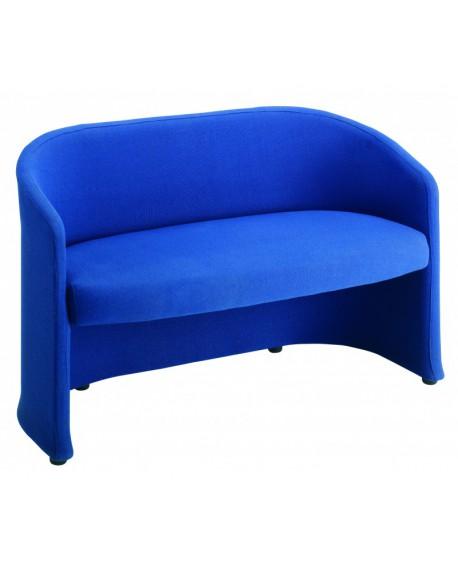 Slender fabric reception tub seating