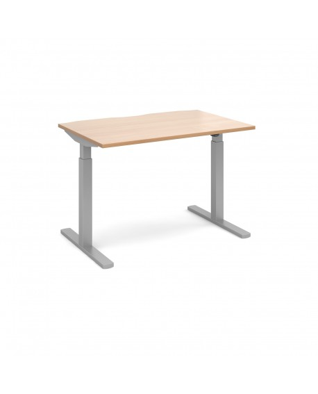 Elev8 Mono straight sit-stand desk 800mm deep