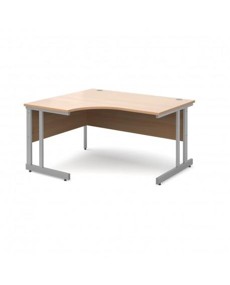 Momento left hand ergonomic desk