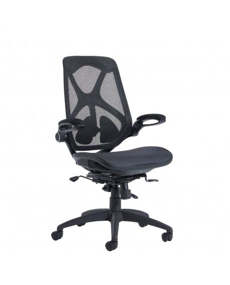 Napier high mesh back operator chair