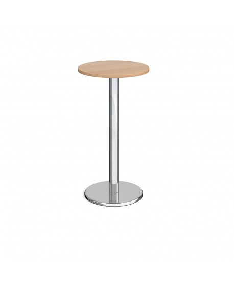 Pisa circular poseur table with round base