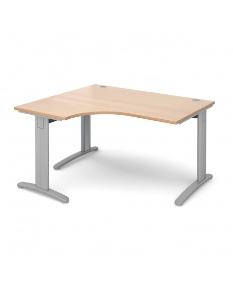 TR10 deluxe left hand ergonomic desk