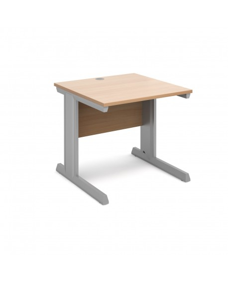 Vivo straight desk 800mm deep