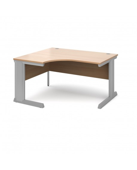 Vivo left hand ergonomic desk