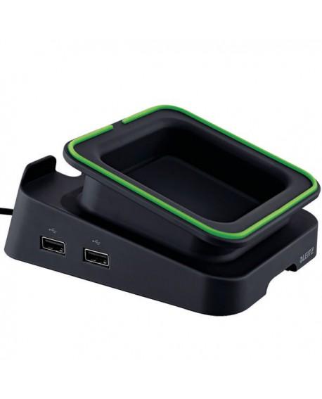 Leitz Complete Charging Desk Stand Black 62280095