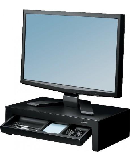 Fellowes Designer Suites Monitor Riser Black 8038101