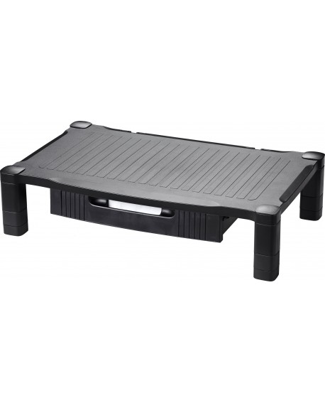 Contour Ergonomics Extra Wide Monitor Stand Drawer Black LZ-315