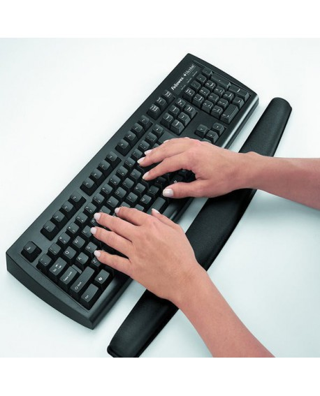 Fellowes Memory Foam Keyboard Rest Black 9178201