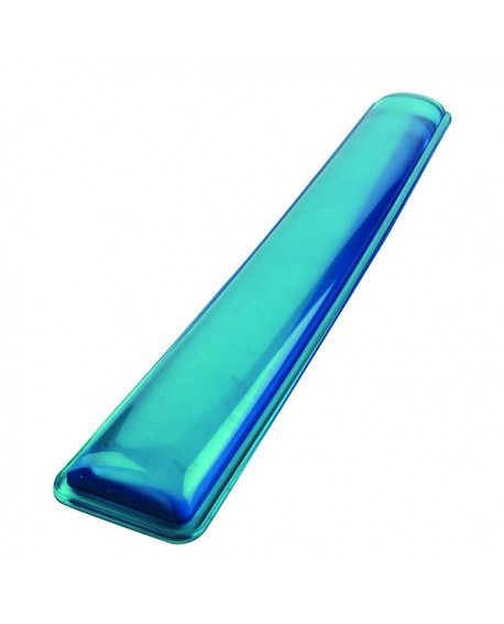 Q-Connect Clear Gel Wrist Rest Blue KF20088