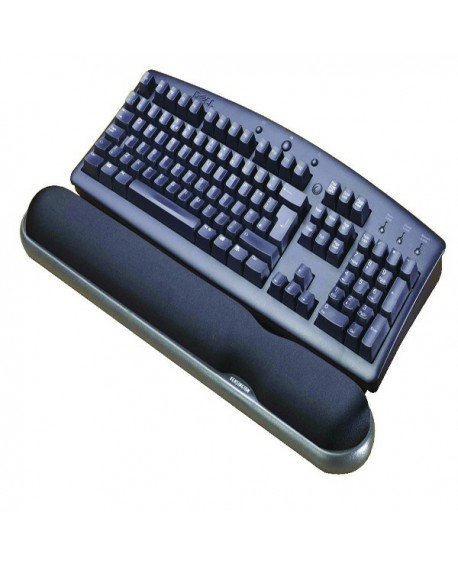 Kensington Black Height Adjustable Gel Keyboard Wrist Rest 22701