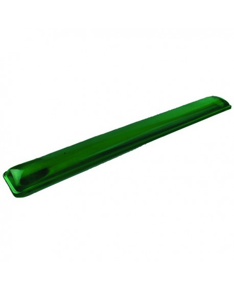 Q-Connect Clear Gel Wrist Rest Green KF20089