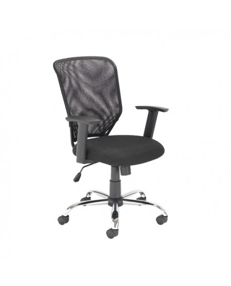 Office Hippo Mesh Office Chair with Adjustable Arms