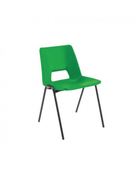 Jemini Classroom Green Chair 260mm KF74985