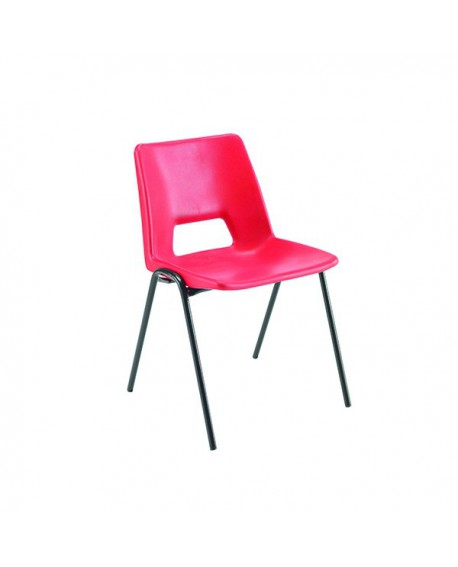 Jemini Classroom Red Chair 260mm KF74975