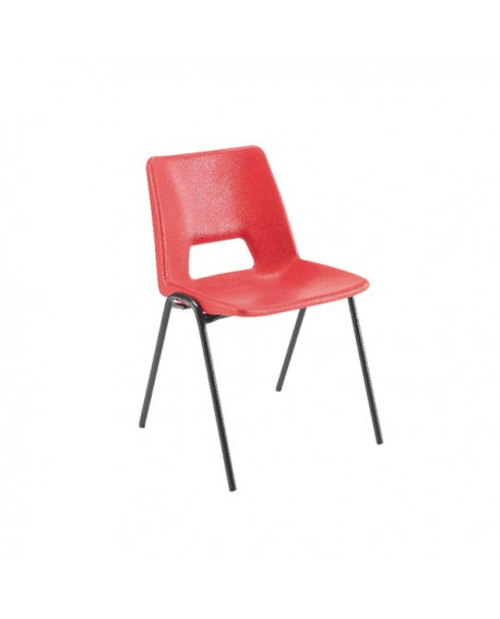 Jemini Classroom Red Chair 430mm KF74979