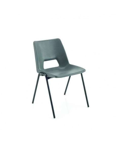 Jemini 430mm Classroom Charcoal Chair KF74994