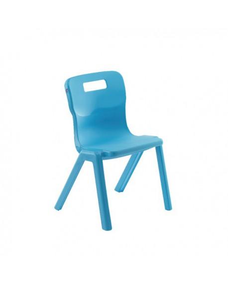 Titan One Piece School Chair Size 2 Sky Blue KF78513