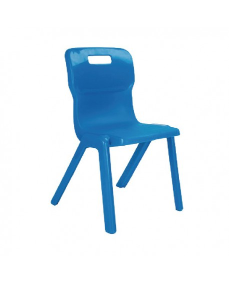 Titan One Piece School Chair Size 1 Blue KF78503
