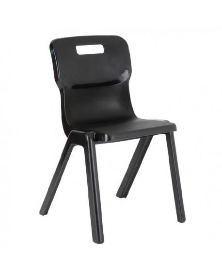 Titan Charcoal Size 2 One Piece School Chair KF72157