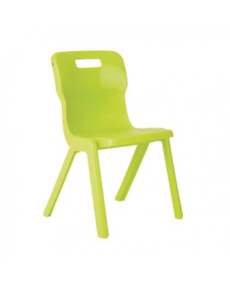 Titan One Piece School Chair Size 3 Lime KF78516