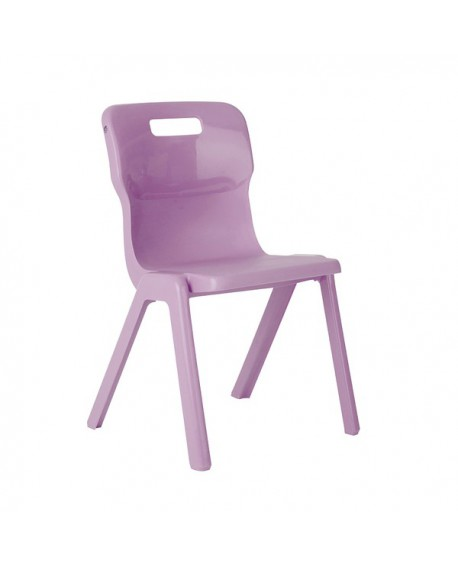Titan One Piece School Chair Size 4 Purple KF78518