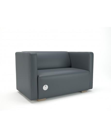 Carmel Sofa Faux Leather