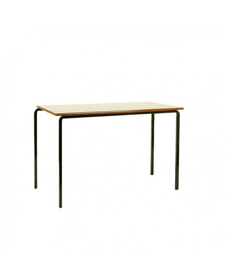 Jemini MDF Edged Class Table W1200 x D600 x H590mm Beech/Black (Pack of 4) KF74551