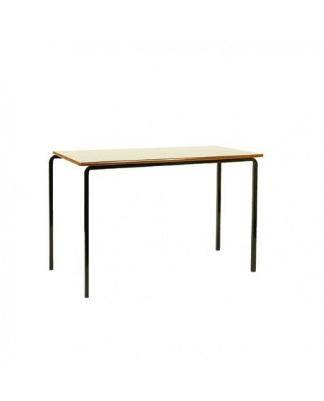 Jemini MDF Edged Class Table W1100 x D550 x H760mm Beech/Black (Pack of 4) KF74554
