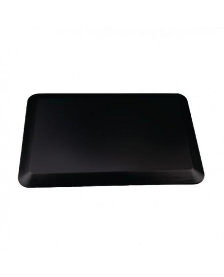 Contour Ergonomics Anti-Fatigue Floor Mat 60x40cm Curl Proof Black CE01467