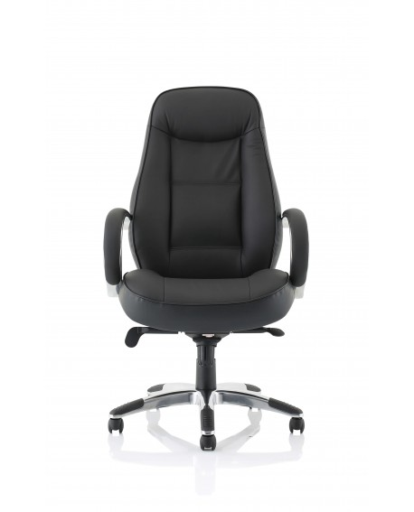 Flix Black Leather Executive Chair