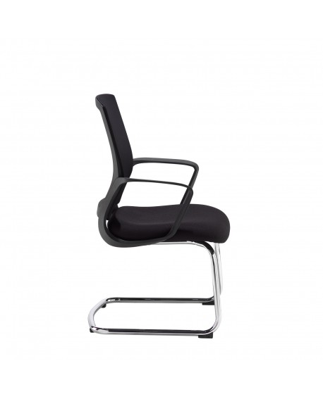 Jonas Mesh Cantilever Chair
