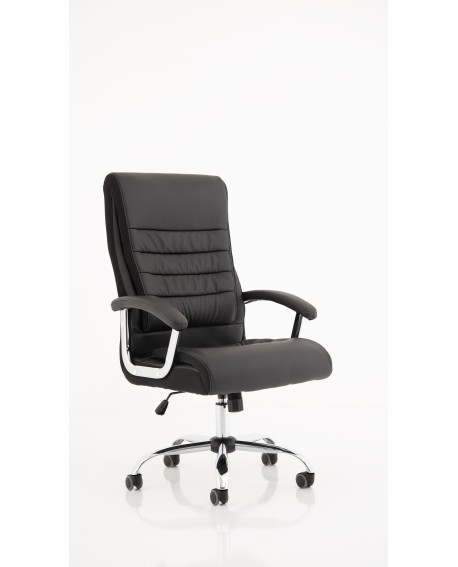 Dallas Black PU Executive Chair
