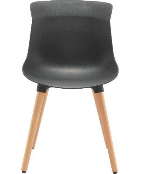 Jemini Black Nuovo Bistro Chair KF79136