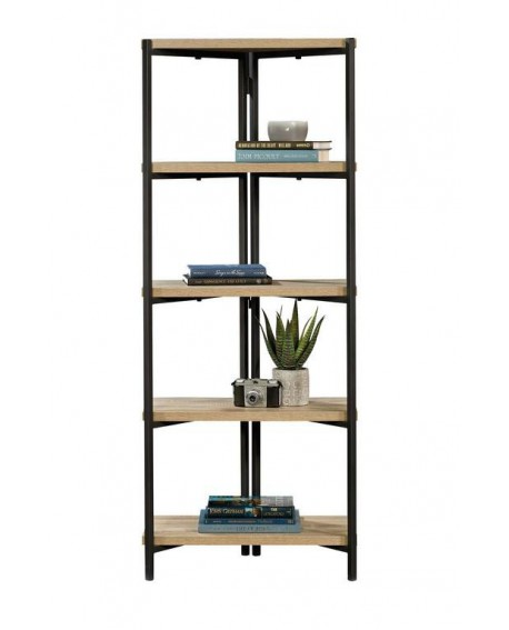 INDUSTRIAL STYLE CHUNKY 4 SHELF BOOKCASE