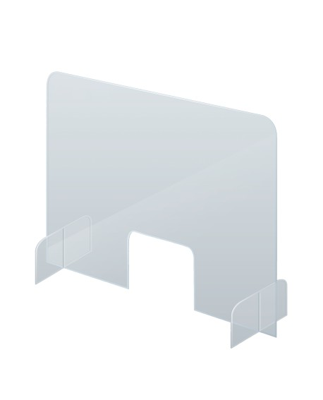 Counter and Desk Protection Screen with Side Panels