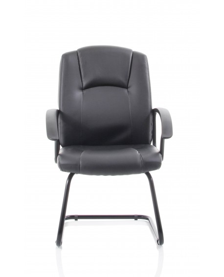 Bella Leather Cantilever Chair