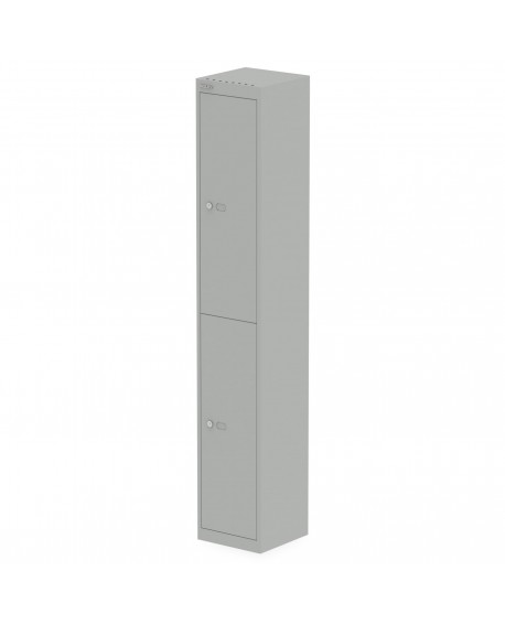 Bisley Qube Locker 1800mm High Goose Grey