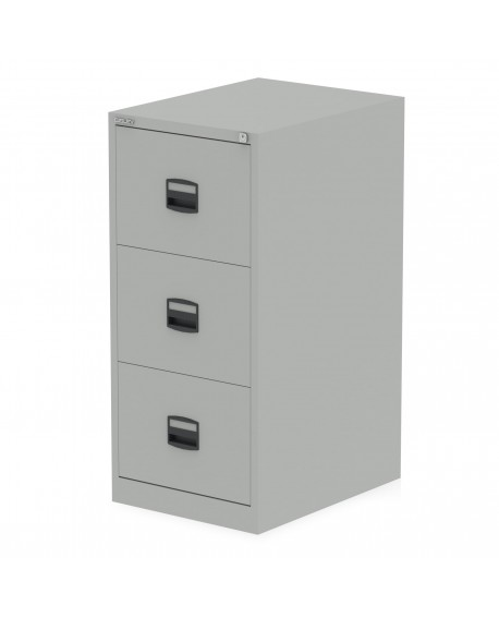 Bisley Qube 3 Drawer Filing Cabinet