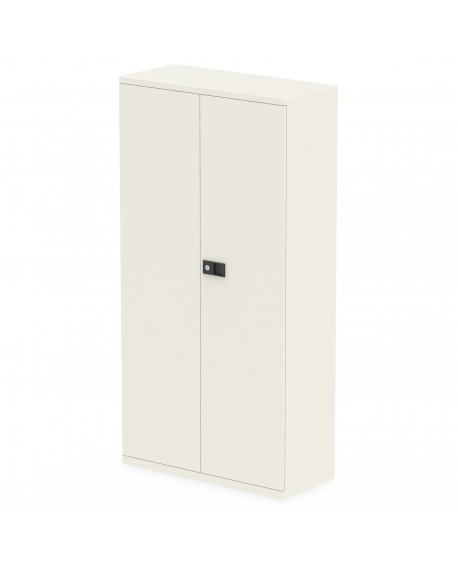 Bisley Qube Stationery 2-Door Cupboard