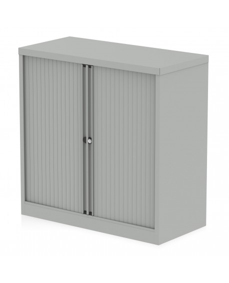 Bisley Qube 1000mm Side Tambour Cupboard
