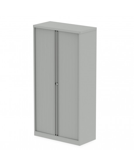 Qube 2000mm Side Tambour Cupboard