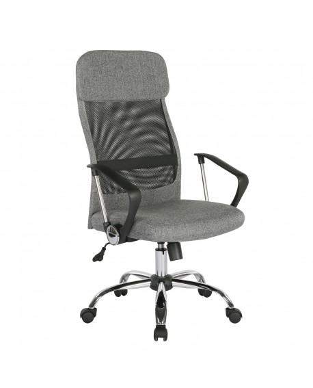 Chord Mesh Back Operators Chair with headrest