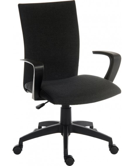 Work Black Fabric Executive Chair