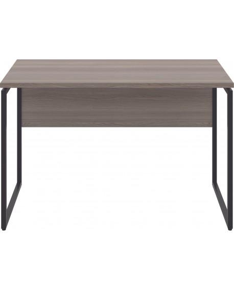Jemini Soho Square Leg Desk Grey Oak/Black Leg SD03BKGO