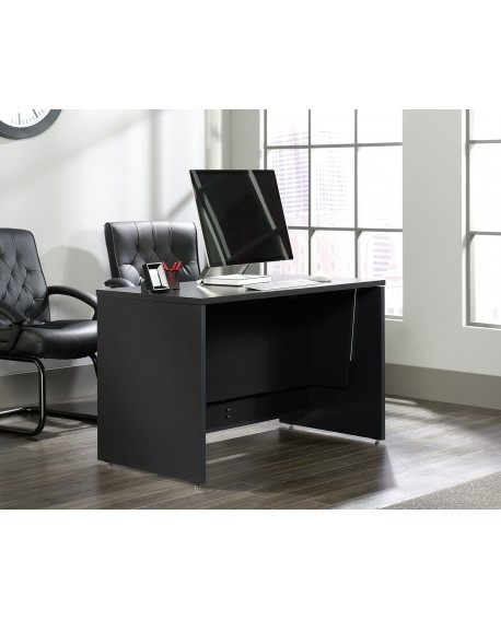 Vertex Sit Stand Desk Bourbon Oak