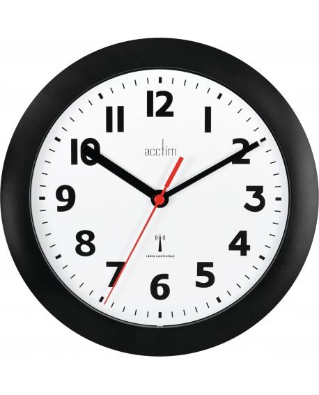 Acctim Parona Wall Clock 230mm Black 74313