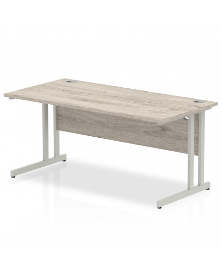 Impulse Cantilever Leg Rectangle Desk 800mm deep
