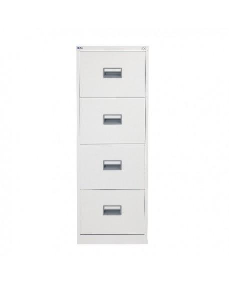 Talos 4 Drawer Filing Cabinet White KF78773