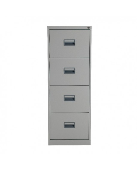 Talos 4 Drawer Filing Cabinet Grey KF78772