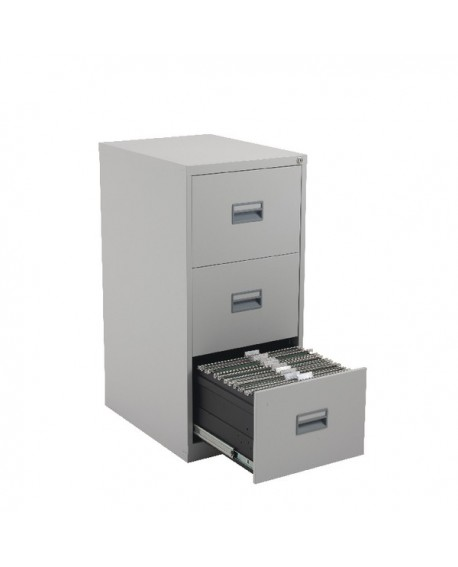 Talos 3 Drawer Filing Cabinet Grey KF78768